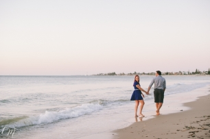 Adelaide Beach Engagement Photographer