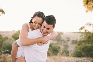 Adelaide Rustic Engagement Photographer | Lucinda May Photography
