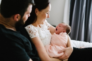 Adelaide Lifestyle Newborn Photography